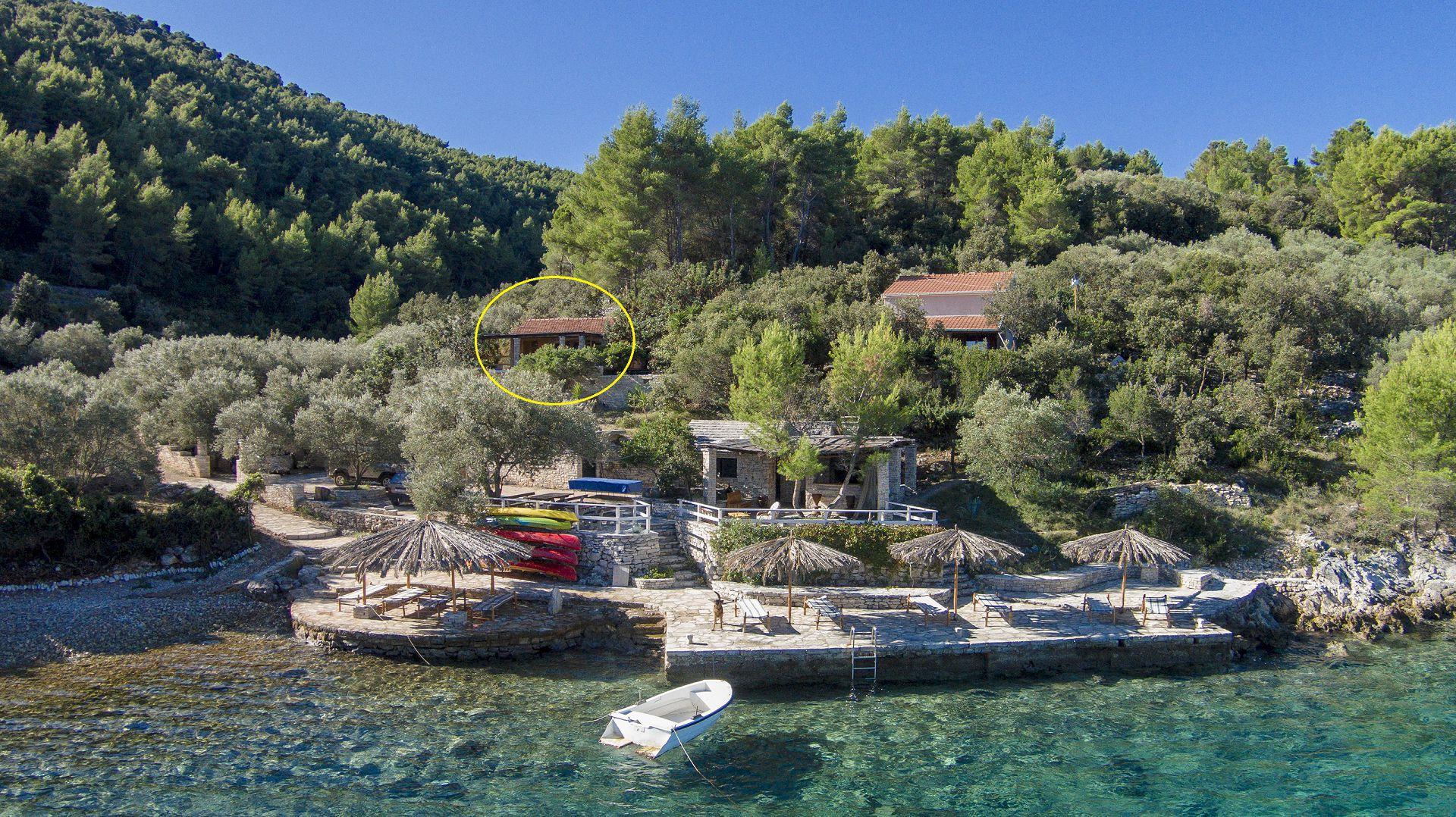 Port  Resort Korcula Island Croatia